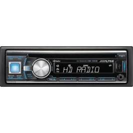 Alpine CDE-134HD - In-Dash CD/HD Radio Receiver