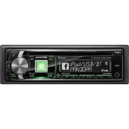 Alpine CDE-147BT- In-Dash CD/Bluetooth Receiver