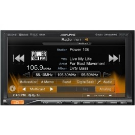 Alpine ICS-X7HD - Mech-less In-Dash App Receiver