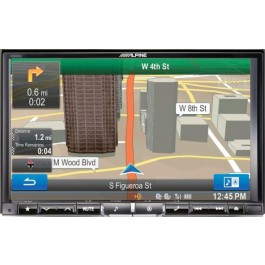 Alpine X008U - In-Dash All-In-One Navigation/A/V System