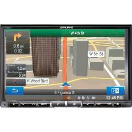 Alpine X008U - In-Dash All-In-One Navigation/A/V System