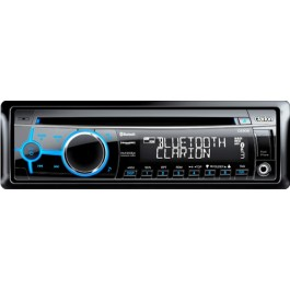 Clarion CZ302 - In-Dash Bluetooth CD/USB/MP3/WMA Receiver