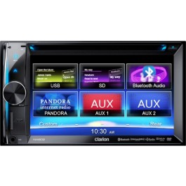 Clarion NX602 - In-Dash All-In-One Navigation/A/V System