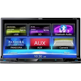 Clarion NX702 - In-Dash All-In-One Navigation/A/V System