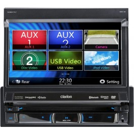 Clarion NZ503 - In-Dash All-In-One Navigation/A/V System
