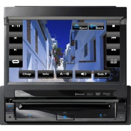 """Clarion VZ401 - In-Dash DVD/CD/MP3/USB Receiver With 7"""" LCD"""
