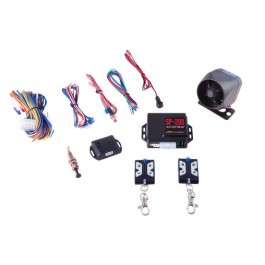 CrimeStopper SP-201 - Deluxe 1-Way Mobile Security System