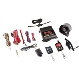 CrimeStopper SP-501 - 2-Way LCD Remote Start/Security System