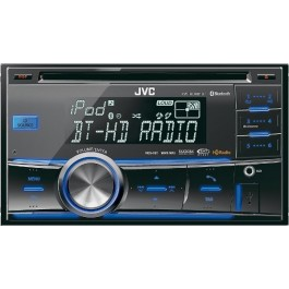 JVC KW-HDR81BT - In-Dash Bluetooth/HD Radio/USB/CD/MP3 Receiver
