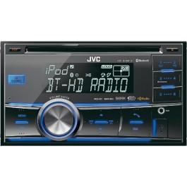JVC KW-HDR81BT - In-Dash Bluetooth/HD Radio/USB/CD/MP3 Receiver
