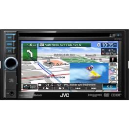 JVC KW-NT310 - In-Dash All-In-One Navigation/A/V System