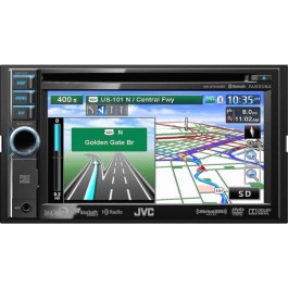 JVC KW-NT510HDT - In-Dash All-In-One Navigation/A/V System