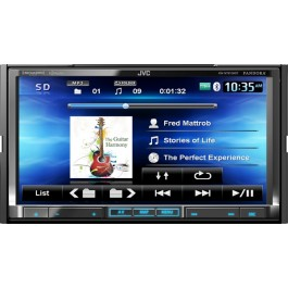 JVC KW-NT810HDT - In-Dash All-In-One Navigation/A/V System