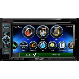 Kenwood DNX570HD - In-Dash All-In-One Navigation/A/V System