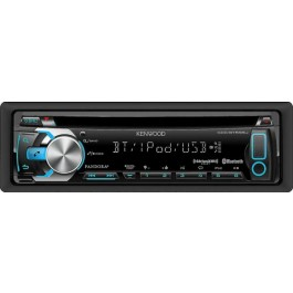 Kenwood KDC-BT555U - In-Dash Bluetooth /CD/ MP3/ USB Receiver