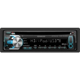 Kenwood KDC-HD455U - In-Dash HD Radio/CD/ MP3/ USB Receiver