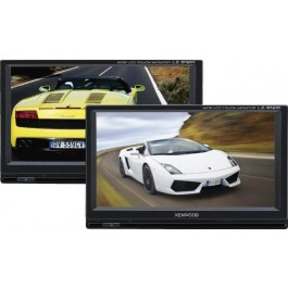 "Kenwood LZ-612IR - Rear Seat Twin 6.1"" LCD Monitor Package"