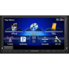 Kenwood DDX770 - In-Dash All-In-One A/V System