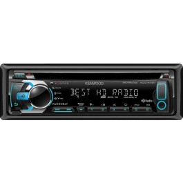 Kenwood Excelon KDC-X497 - In-Dash HD Radio CD/ MP3/ USB Receiver