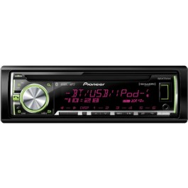 Pioneer DEH-X6600BS - In-Dash Bluetooth/CD/MIXTRAX/ MP3/USB Receiver
