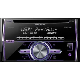 Pioneer FH-X500UI - In-Dash CD/MIXTRAX/MP3/USB Receiver