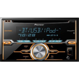 Pioneer FH-X820BS - In-Dash CD Receiver with Dual Bluetooth,AUX/USB Inputs