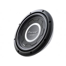 "Pioneer TS-SW3001S4 - 12"" Shallow Mount Subwoofer 4ohm"