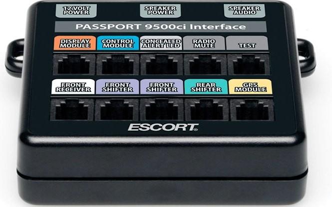 Escort 9100 speed detector