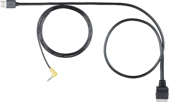 iPod iPhone to JVC KW-NT500HD KW-NT800HDT Audio/&Video CABLE  KS-U49