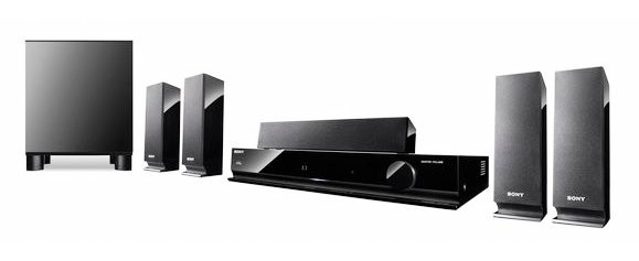 sony ht ss370 surround sound home theater system buy at. Black Bedroom Furniture Sets. Home Design Ideas